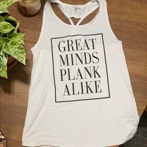 XS women plank tank
